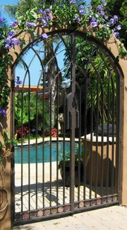 Custom Pool Gate